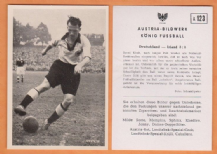 West Germany v Ireland Klodt Schalke 04 A123 (B)